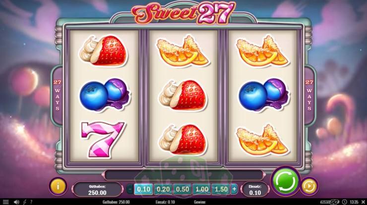 Sweet 27 Titelbild