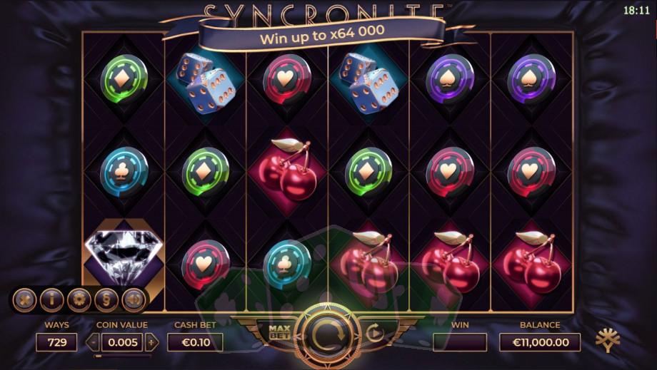 Syncronite Splitz Titelbild