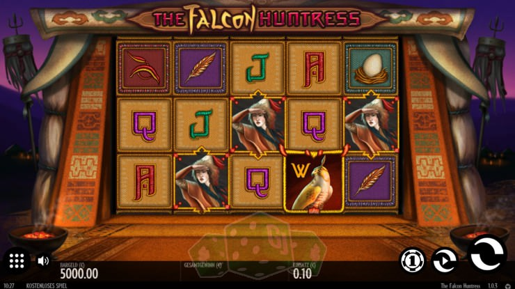 The Falcon Huntress Titelbild