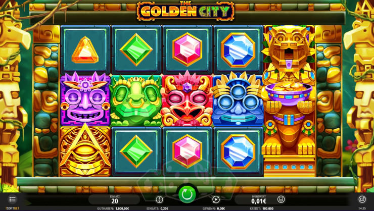 The Golden City Titelbild