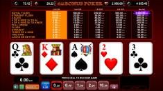 Bild zum Casino Spiel 4 of a kind Bonus Poker