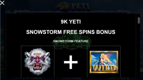 Snowstorm Freespins