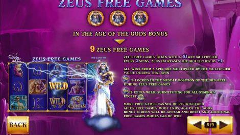 Zeus Freispiele