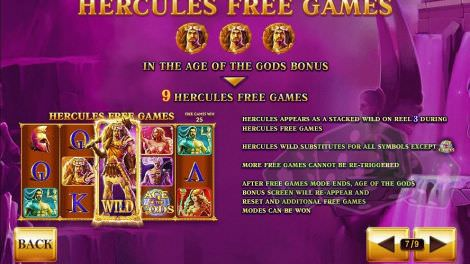 Hercules Freispiele