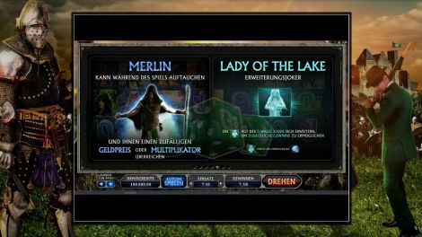Merlin und Lady of the Lake