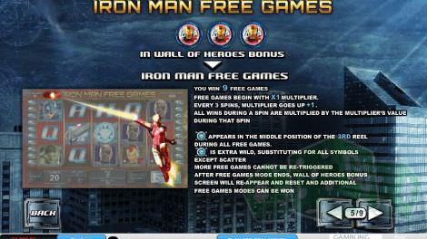 Iron Man Freispiele