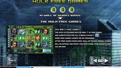 Hulk Freispiele