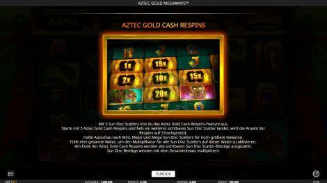 Cash Respins