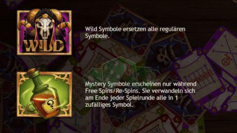 Wild und Mystery-Feature