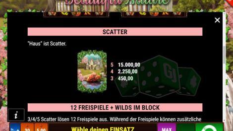 Scatter Symbol Max Einsatz