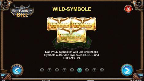 Wild Symbole