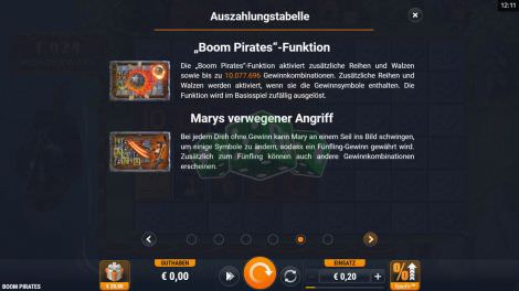 Boom Pirates Funktion
