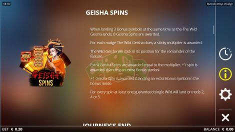 Geisha Spins