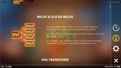 Sliced Wilds