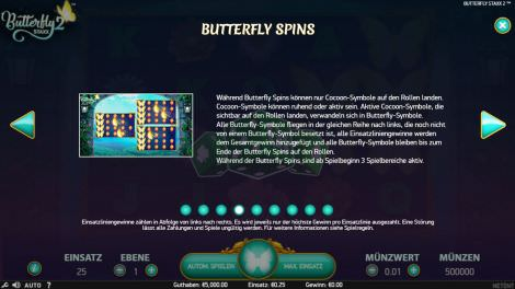 Butterfly Spins
