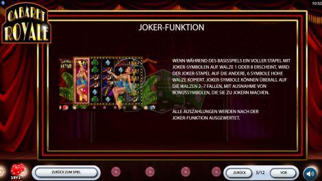 Joker Funktion