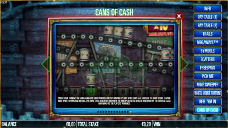 Cans of Cash
