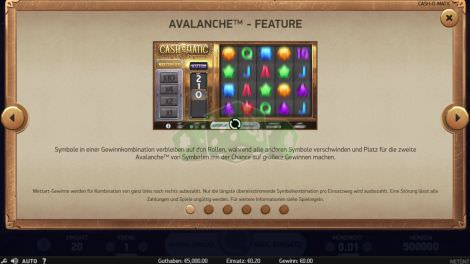 Avalanche Feature
