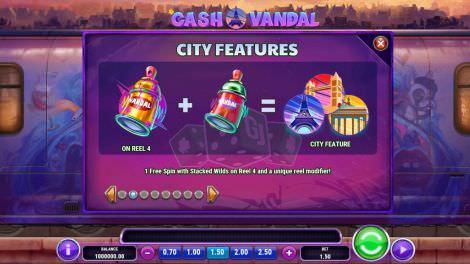 Auslösung des City Features