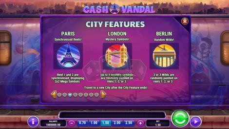 Die verschiedenen Städte und ihre Features