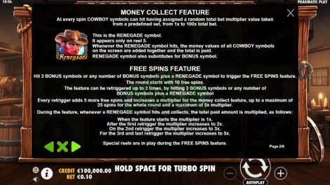 Money Collect Feature