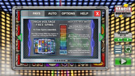 High Voltage Free Spins