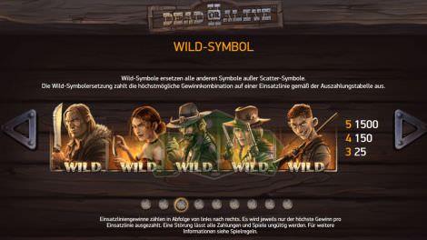 Wild Symbole bei Dead or Alive 2
