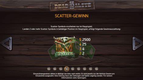Scatter Gewinne bei Dead or Alive 2