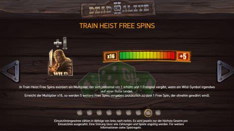 Train Heist Free Spins