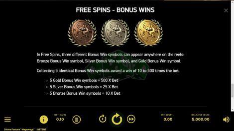Bonus Wins