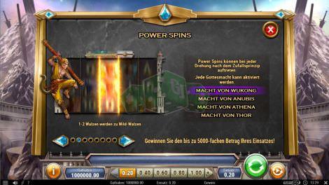 Power Spins