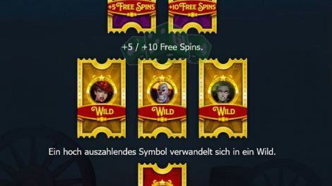 Freespins Features 3 bei Dr Fortuno