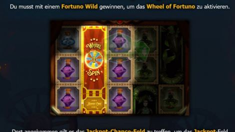 Jackpot Gewinn bei Dr Fortuno