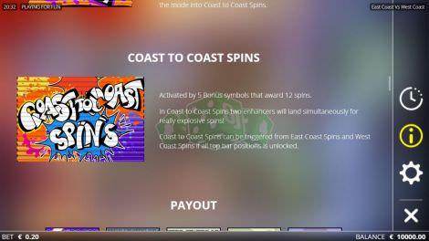 Coast to Coast Spins