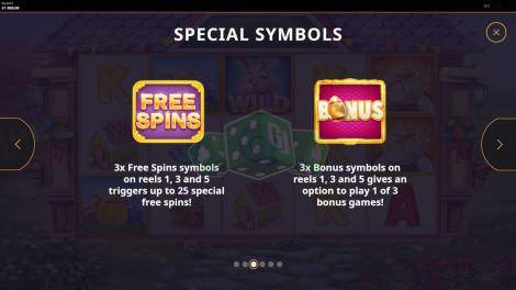 Die Special Symbole bei Easter Money