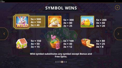 Die hohen Gewinnsymbole bei Easter Money