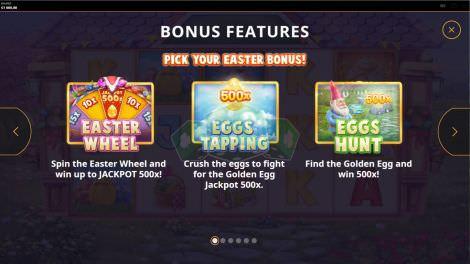 Die Bonusspiele bei Easter Money