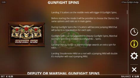 Gunfight Spins