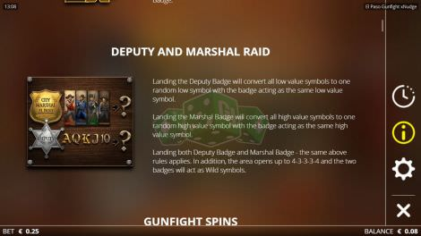 Deputy and Marshall Raid