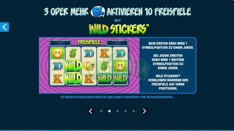 Sticky Wild Feature