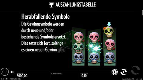 Herabfallende Symbole