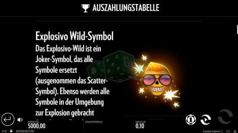 Explosivo Wild Symbol