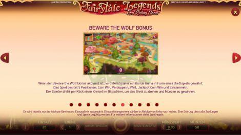 Beware the Wolf Bonus