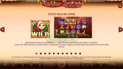 Sticky Wild Re-Spins