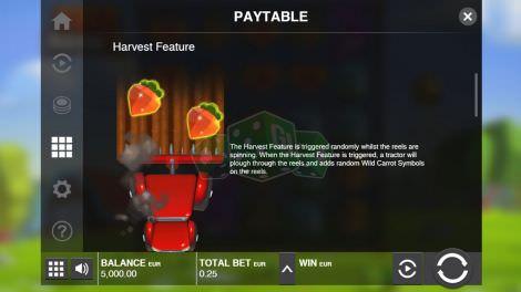 Harvest Feature