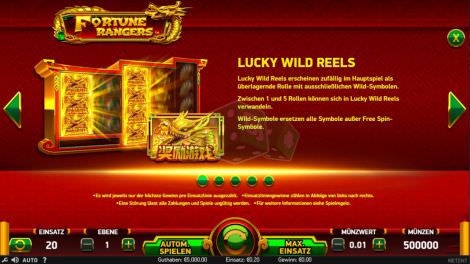 Lucky Wild Reels