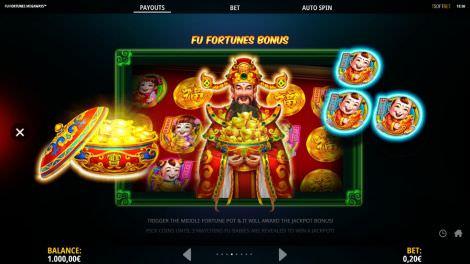 Fu Fortunes Bonus