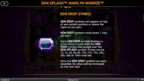 Gem Drop Symbol