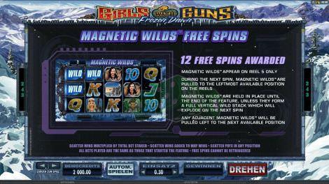 Magnetic Wilds Freispiele