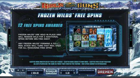 Frozen Wilds Freispiele
